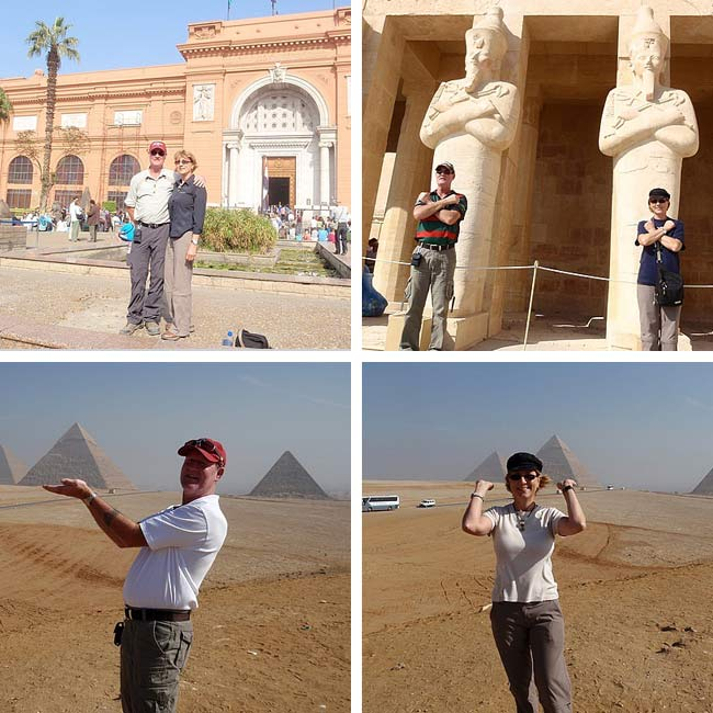 Carolyn & Mark in Egypt - Travelive Reviews