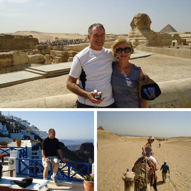 Heidy & Frank in Egypt & Greece - Travelive Reviews