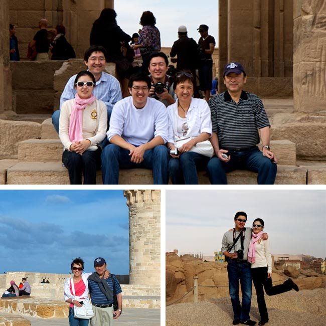 Oba Family in Egypt - Travelive Reviews