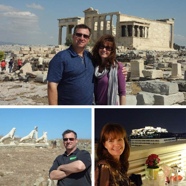 John & Jill in Greece - Travelive Reviews