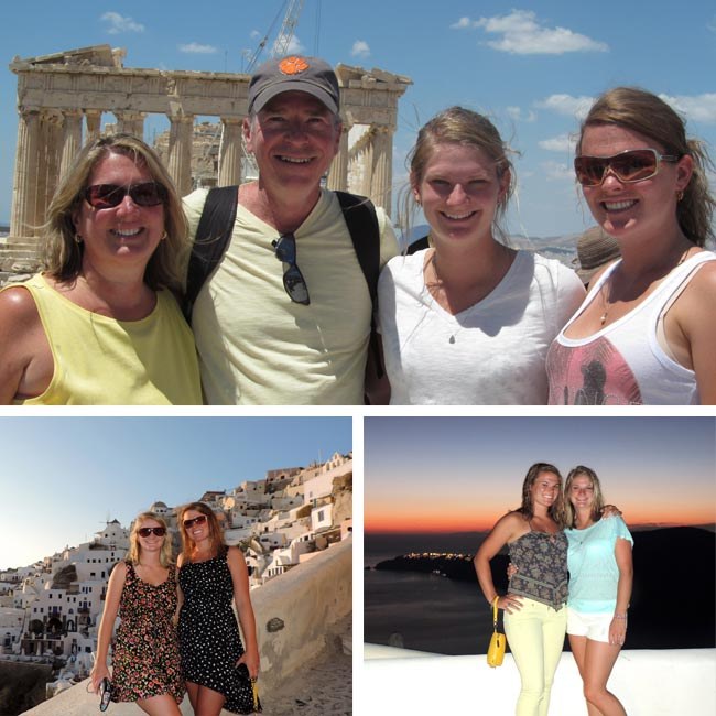 Linda & Family in Greece - Travelive Reviews