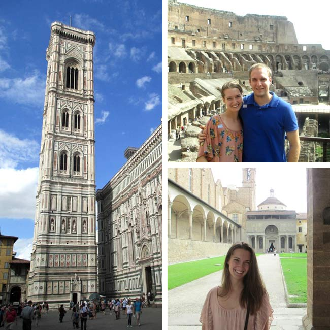 Amanda & Brian in Italy - Travelive Reviews