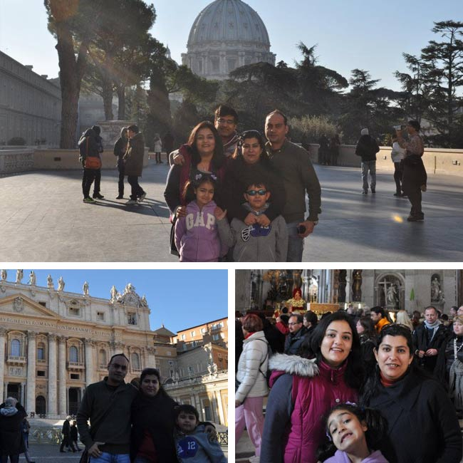 Dogra & Talwar Family in Italy - Travelive Reviews