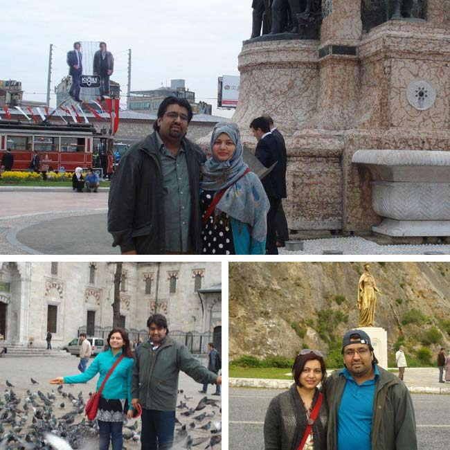 Hyder & Aneela in Turkey - Travelive Reviews