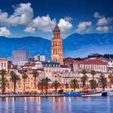 View of Split Riva - Vacation packages by Travelive