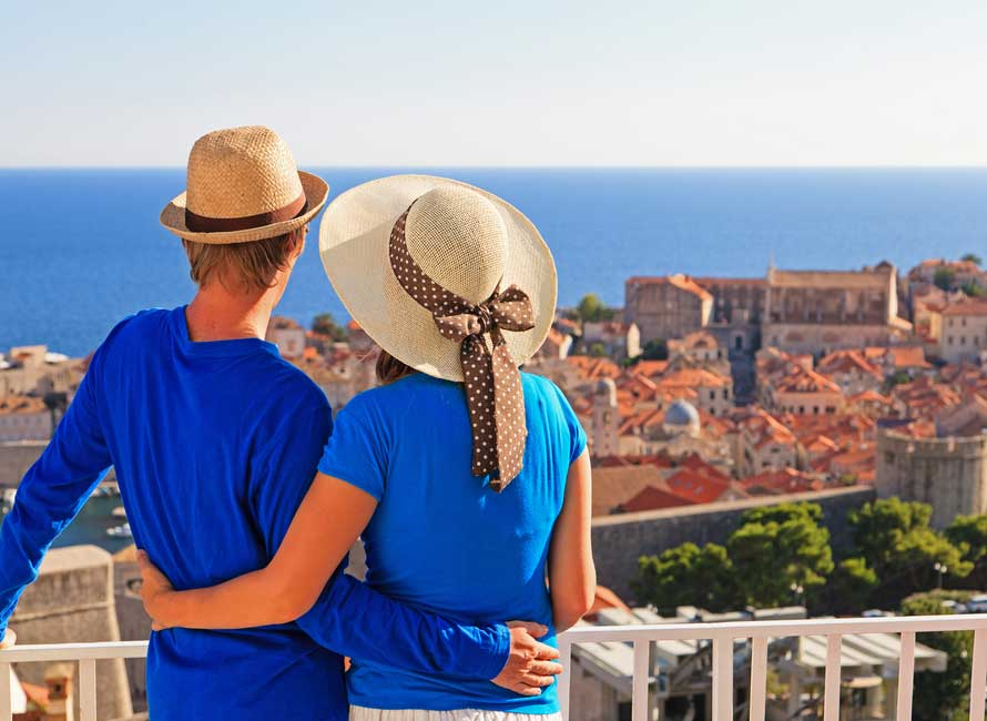 Couple on a Honeymoon in Croatia – Luxury Holiday Packages, Travelive