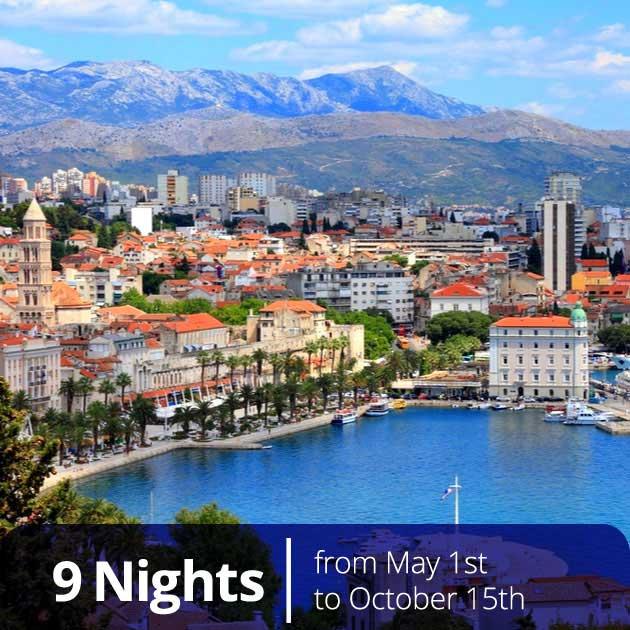 Split Panorama Croatia – Romantic Croatian Honeymoon, Travelive