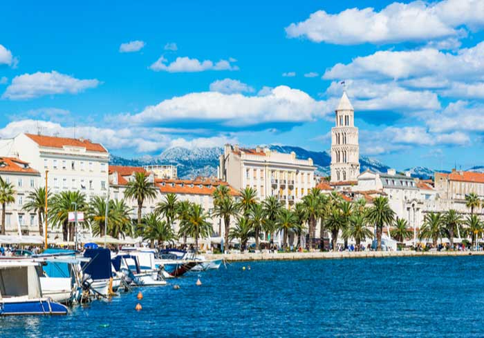 Split view from Matejuska – Romantic Croatia Honeymoon package by Travelive