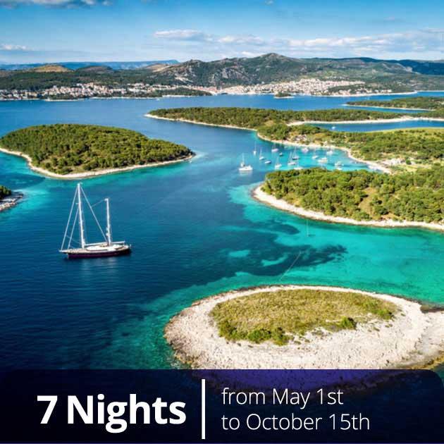 Paklenski islands sailing – Romantic Croatian Honeymoon, Travelive
