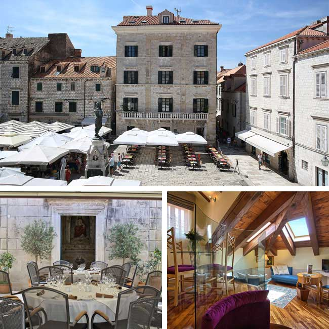 The Pucic Palace - Dubrovnik Hotels, Travelive