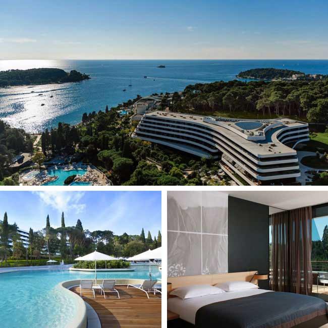 Hotel Lone - Rovinj Hotels, Travelive