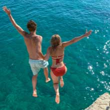 Swimming in the Adriatic Sea Croatia – Vacation Packages by Travelive