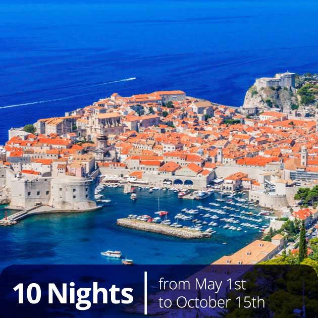 View of Dubrovnik Old Port – Croatian Gems Split Dubrovnik Hvar, Travelive