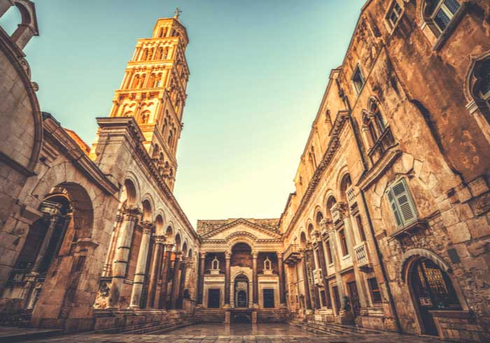 Diocletian's Palace Split – Luxury vacations in Croatia, Travelive
