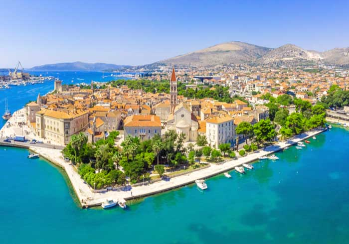 Trogir Panorama – Luxury Vacations in Croatia Created by Travelive