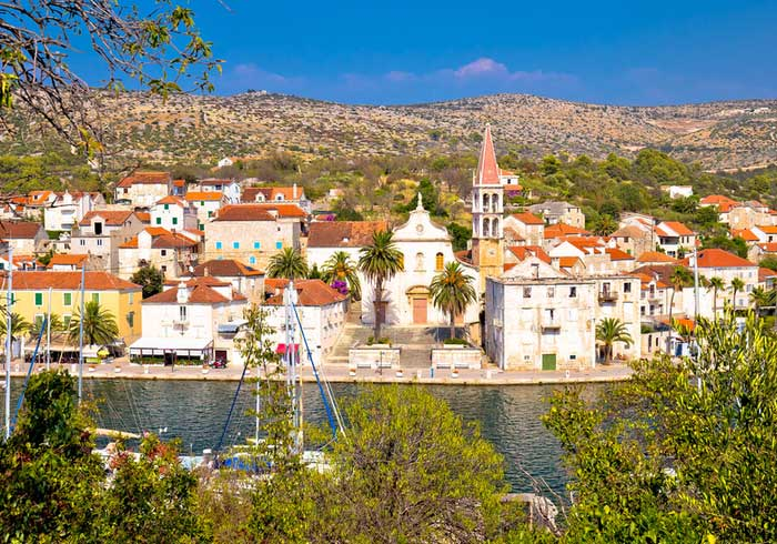 Necujam Town on Island Solta – Holiday packages in Croatia, Travelive