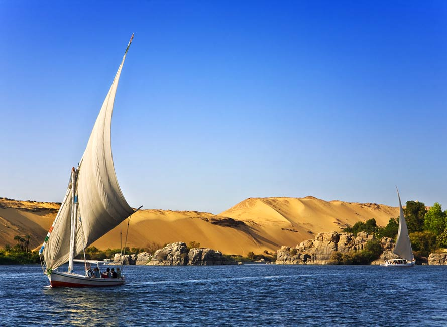 Nile River – Luxury Travel Egypt, by Travelive