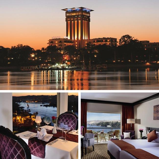 Movenpick Elephantine Island - Aswan Hotels, Travelive