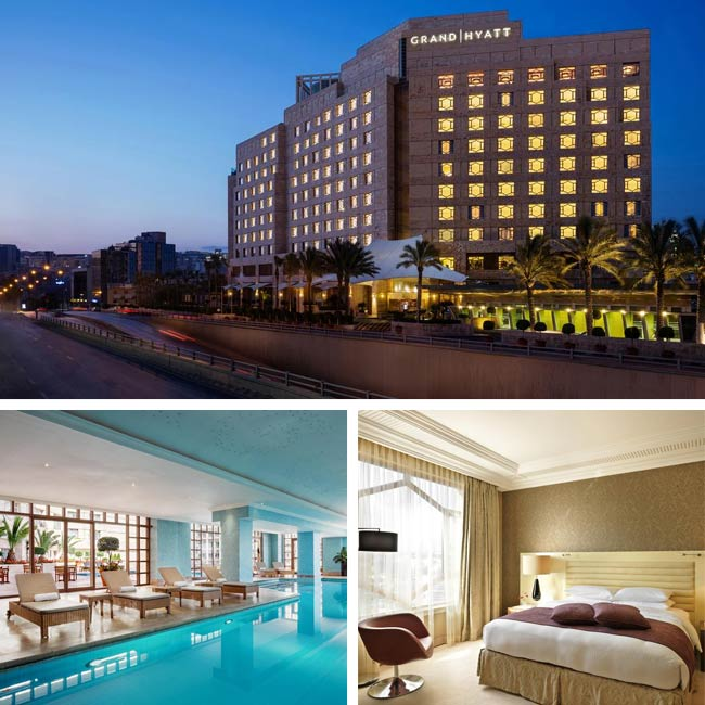 Grand Hyatt Amman - Jordan Hotels, Travelive