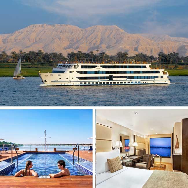 Oberoi Zahra - Nile river cruise, Travelive