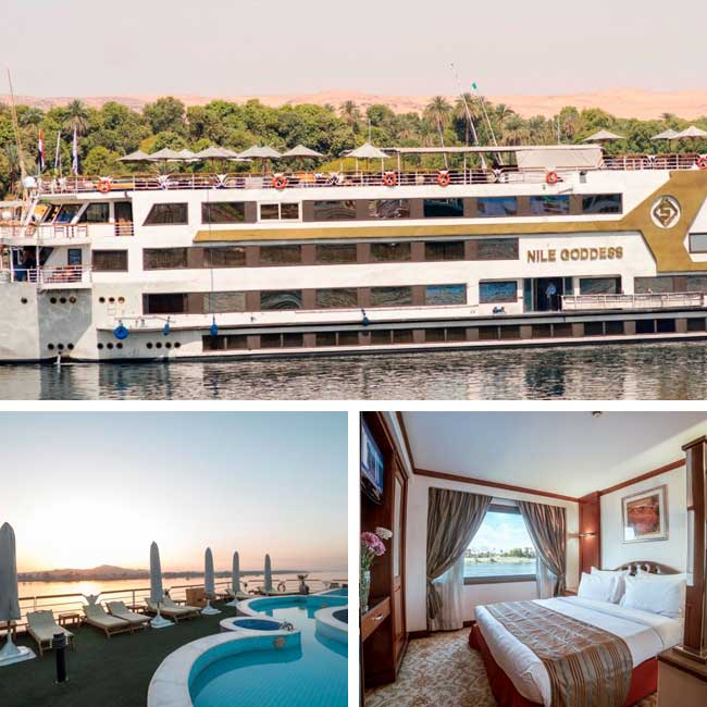 Sonesta Nile Goddess	 - Luxury Nile River Cruise, Travelive