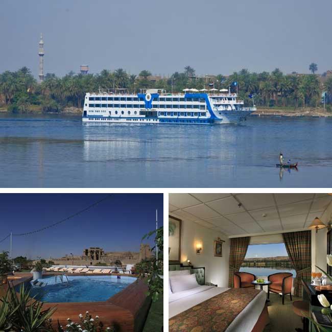 Sonesta Sun Goddess - Nile river cruise, Travelive