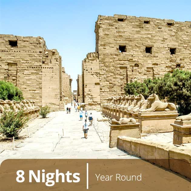 Karnak Temple - Egypt Romantic Explorer,Luxury Honeymoon Packages in Luxor, Travelive