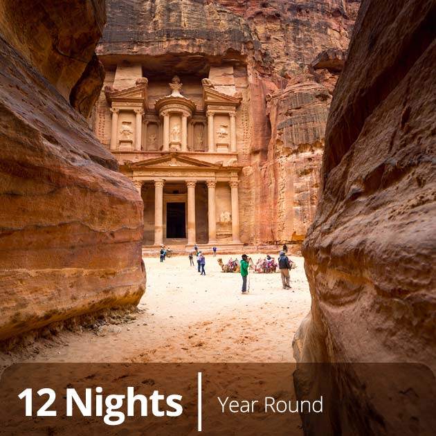 Petra – Jordan, Egypt and Jordan tours with Travelive, Luxury Vacations