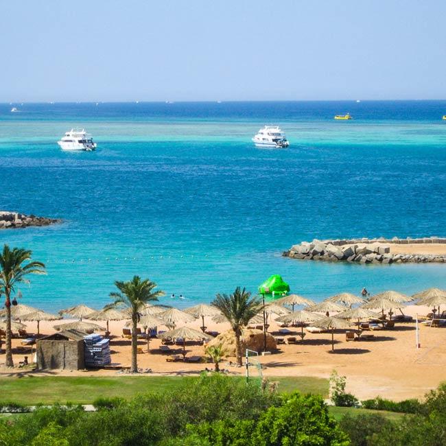 Red Sea – Hurghada, Egypt destinations, Coastal harbor city exploration with Travelive