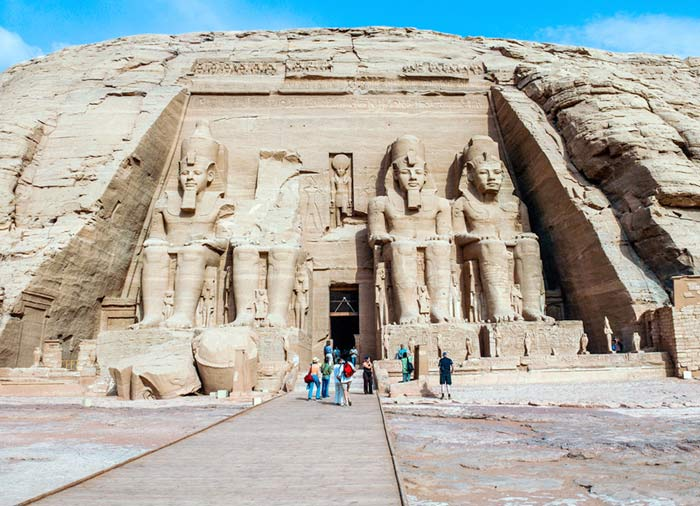 Abu Simbel – Egypt and Jordan Combined tours with Travelive