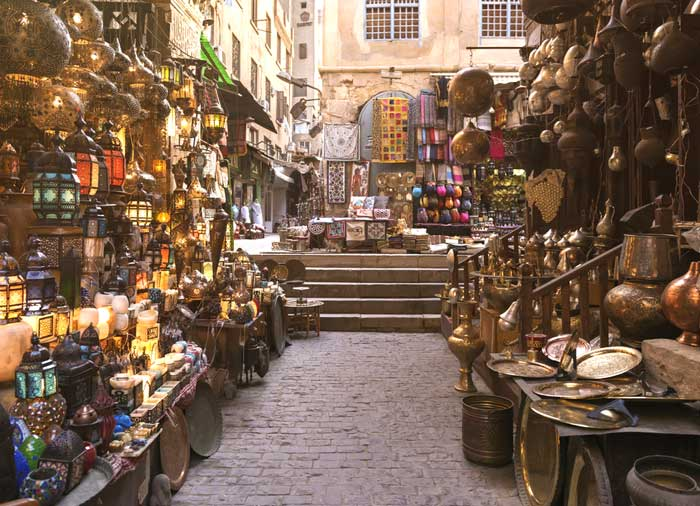 Khan Al Khalili Bazaar – Cairo, Egypt and Jordan combined tours by Travelive