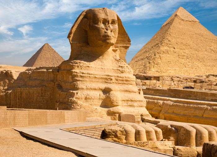 Sphinx of Giza – Explore Egypt Jordan tours with Travelive