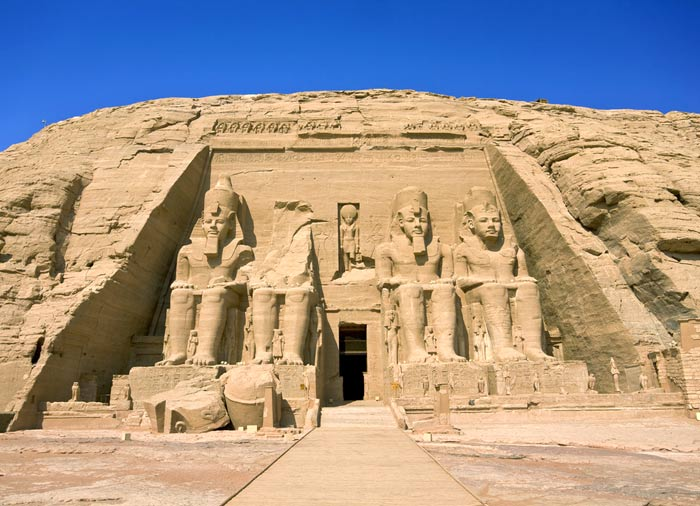Temple of Ramses II in Abu Simbel - Cairo Vacation Packages with Travelive