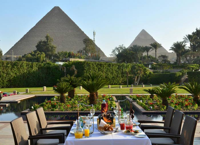 Mena House Oberoi – Pyramids View, Cairo Vacation Packages with Travelive