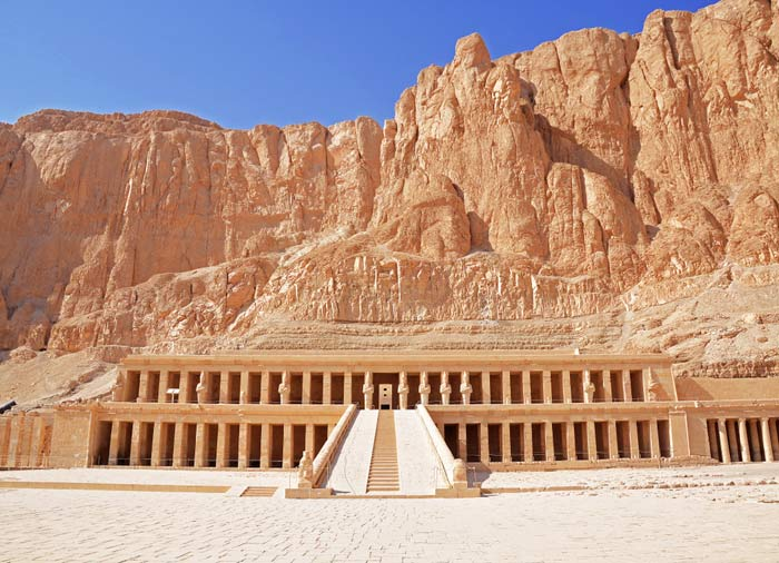 Hatshepsut Temple – Luxor, Romantic Egypt tours with Travelive, luxury travel agency