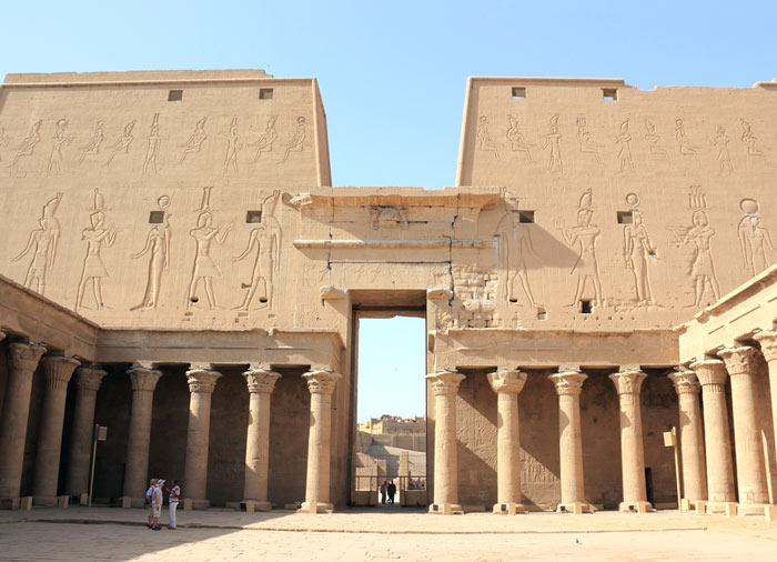 Temple of Edfu – Romantic Egypt tours with Travelive, Nile Romance luxury packages