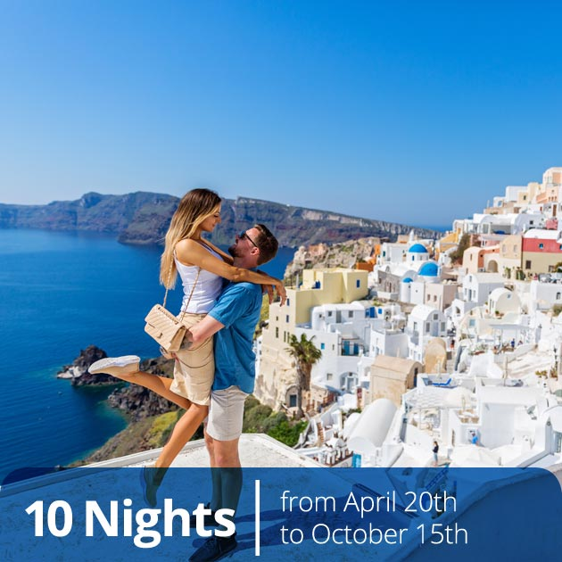 Romantic Couple in Santorini - Hellenic Beauty, Honeymoon Packages in Santorini, Travelive