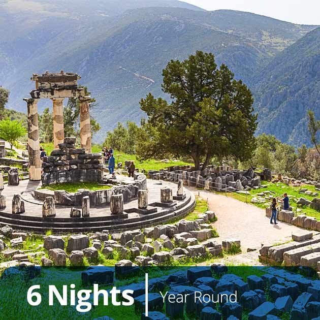 Delphi – Classical Athens and Mainland Greece Vacation Packages, Tours with Travelive