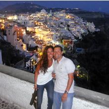 Grace & Elias in Santorini - Luxury Honoeymoon in Santorini, Travelive