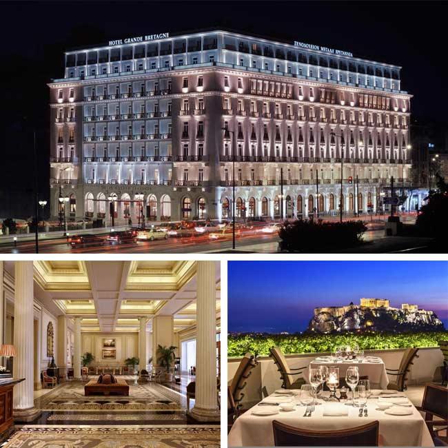 Hotel Grande Bretagne - Luxury hotels Athens, Travelive