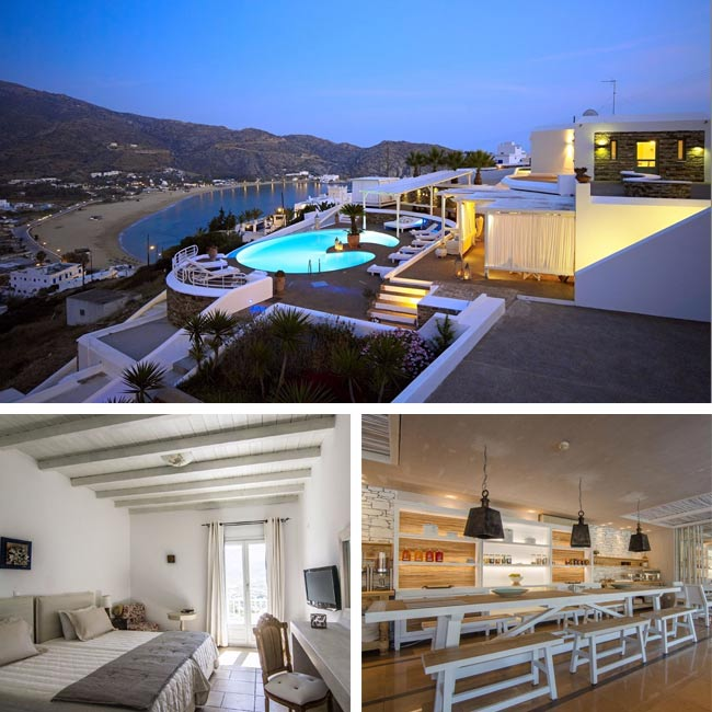 Levantes Ios Boutique Hotel - Hotels in Ios Greece, Travelive