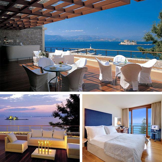 Amphitryon Hotel Nafplion - Luxury hotels in Nafplion, Peloponnese Greece, Travelive