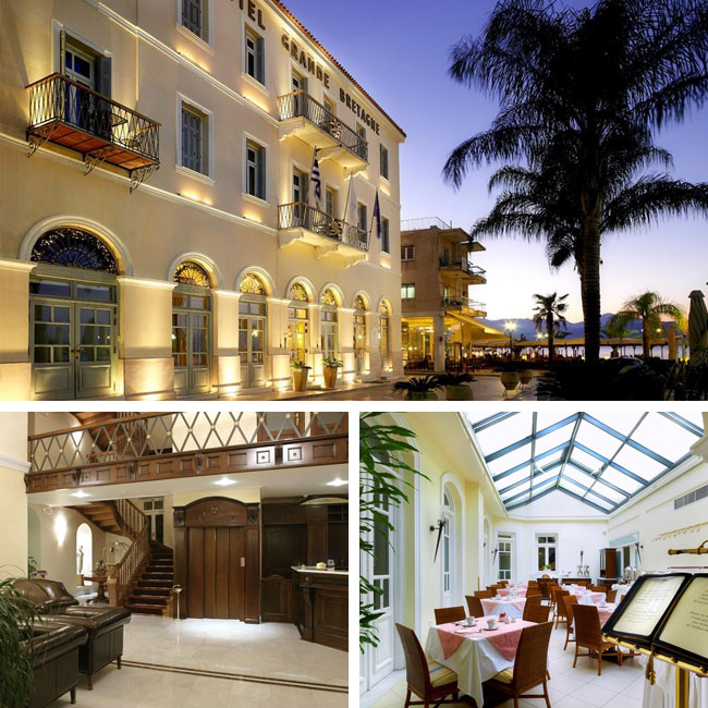 Hotel Grande Bretagne Nafplio - Luxury hotels in Nafplion, Peloponnese Greece, Travelive