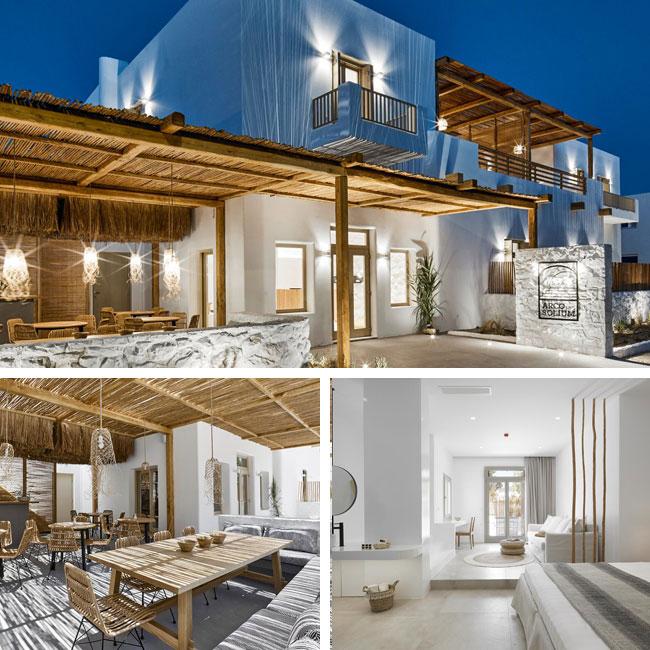 Arco Solium Suites - Luxury hotels Milos, Travelive