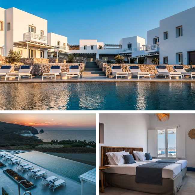 Milos Breeze Boutique Hotel - Luxury hotels Milos, Travelive