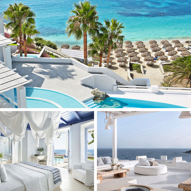 Mykonos Blu Grecotel Exclusive Resort - Luxury hotels Mykonos, Travelive