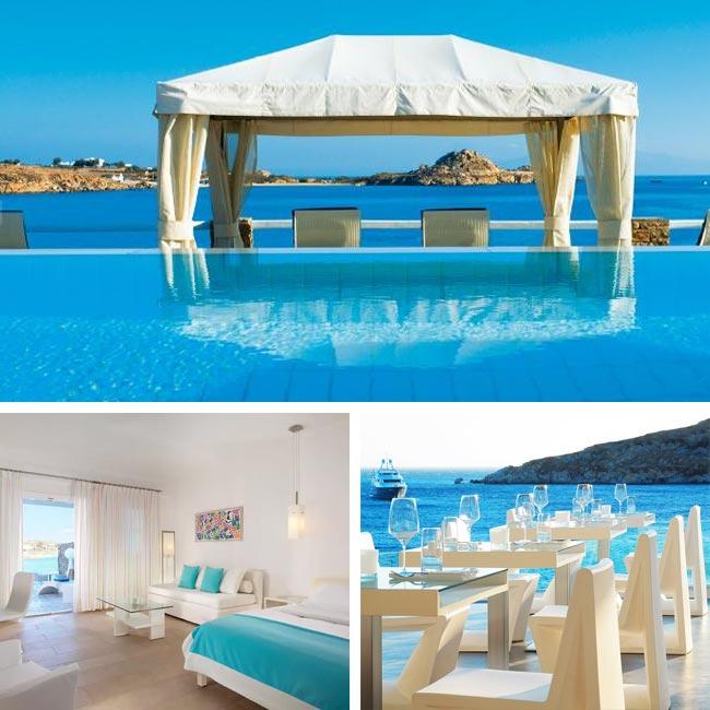 Petasos Beach Hotel & Spa - Luxury hotels Mykonos, Travelive