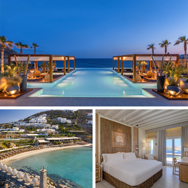 Santa Marina Resort & Villas - Luxury hotels Mykonos, Travelive