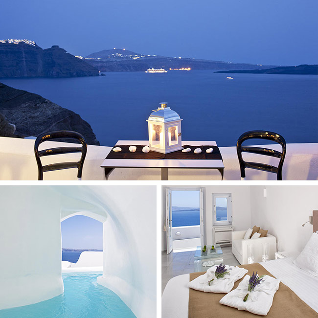 Canaves Oia Hotel - Santorini Luxury Hotels, Travelive