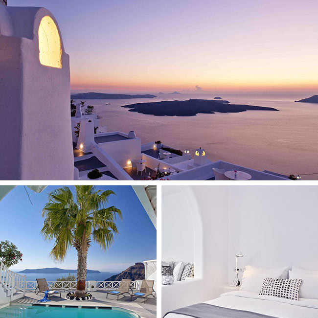 Cliff Side Suites - Santorini Hotels, Travelive